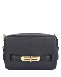 Handbag THE MYTH Calfskin Logo black