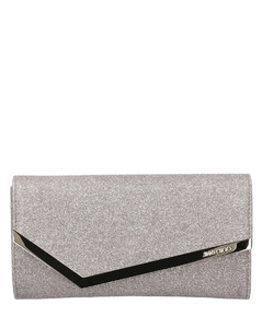 Wallet on Chain EMMIE Glitter logo gold