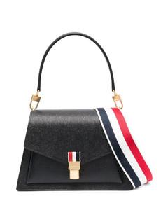 Top Handle Bag In Neutral Grey