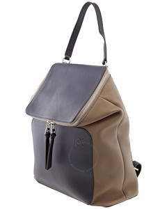 Ladies Grained Calfskin Goya Backpack