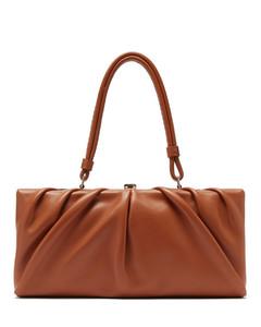 East leather shoulder bag