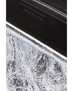 Cloud metallic clutch XL with stap