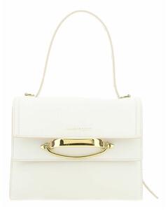 White leather The Story handbag
