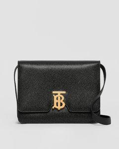 Medium Grainy Leather TB Bag