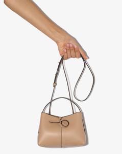Biscuit Ava Mini Tote Leather Shoulder Bag