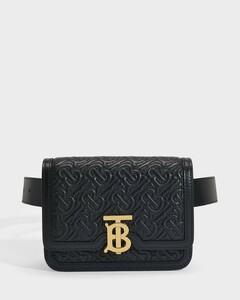 Tb Bum Bag In Black Lamb Leather