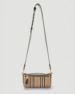 Icon Stripe Barrel Shoulder Bag