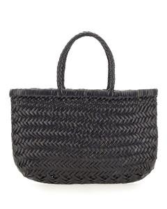 Light grey nappa leather small Rockstud Spike handbag