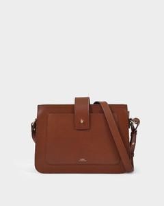 Albane Bag in Hazelnut Smooth Leather