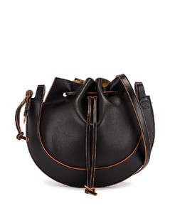 Horseshoe Bag in Black