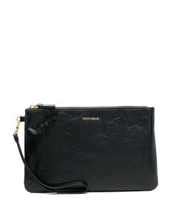 Fantasmino shoulder bag in leather