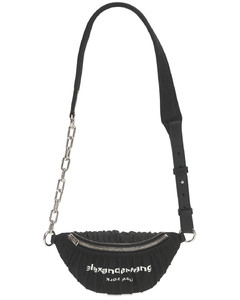Attica Ruched Nylon Belt Bag