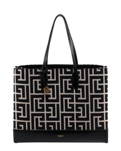 Skull Four Ring Clutch in Silver Embrossed Leather