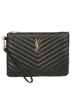 Brown cross-body wallet