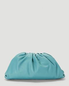 Pouch Clutch Bag in Blue