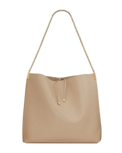 Medium Leather Suzanne Hobo Bag