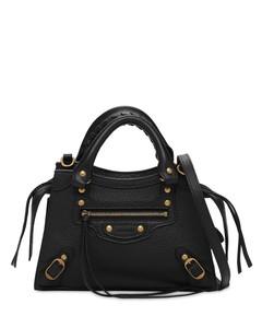 Mini Neo Classic Leather Top Handle Bag
