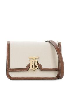 Small Tb Canvas Shoulder Bag