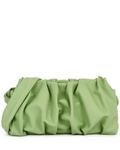 Vague green leather shoulder bag