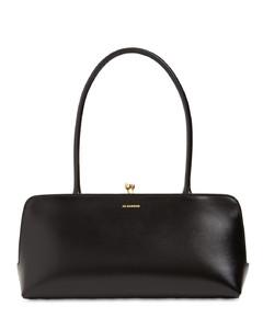 Small Goji Leather Top Handle Bag