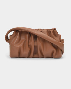 Vague Shoulder Bag in Brown Leather