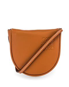 Heel Mini Pouch Bag in Brown