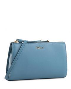 芙拉Luna XL大号手拿信封包手拿包-蓝色