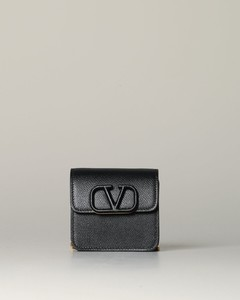 mini leather bag with VLogo