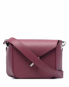 's Saki with Diamonds Clutch - White