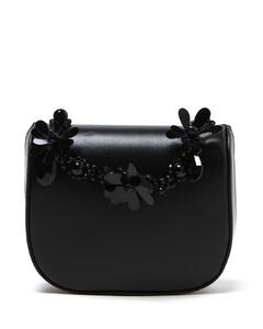 Tonal bead embellished mini bag