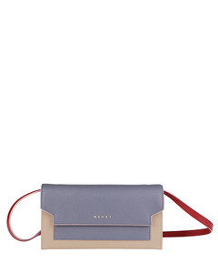 Tri-Coloured Gussets Pochette
