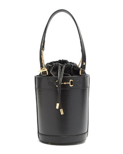 1955 Horsebit leather bucket bag