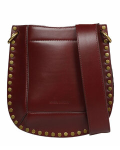 Black leather Trunk shoulder bag