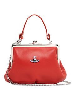 Emma Soft Leather Top Handle Bag
