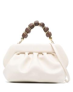 Viv' Lacquered Buckle Clutch Bag