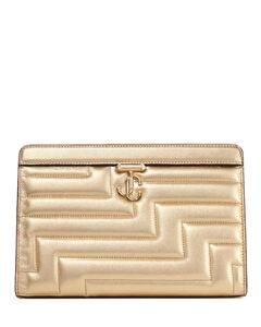 Monogramme medium leather satchel