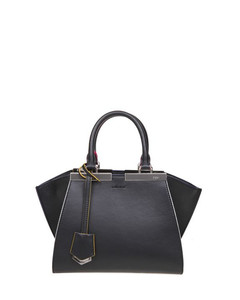 mini 3jours bag in black leather