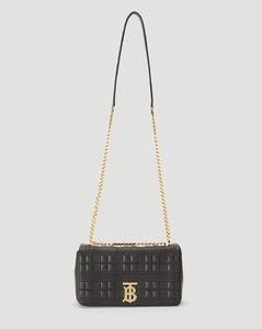 Small Lola Shoulder Bag in Black