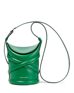 Curve S号皮革水桶包