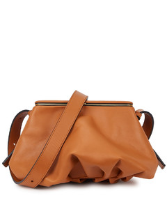Blake brown leather cross-body bag