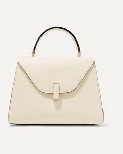 Iside Medium Textured-leather Shoulder Bag