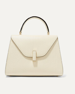 Iside Medium Textured-leather Shoulder Bag