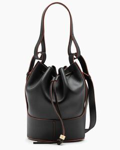 Black Nano Balloon bucket bag
