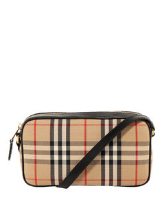 Classic Checked Shoulder Bag