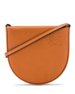 Heel Pouch Bag in Brown