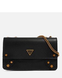 Women's Divina Large Shoulder Bag - RED