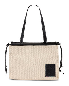Cushion Tote Small Bag in Neutral,White