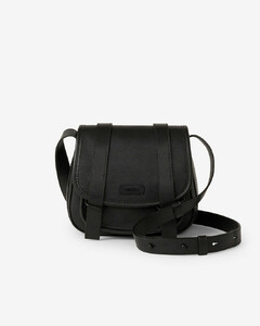 Courier small leather messenger bag
