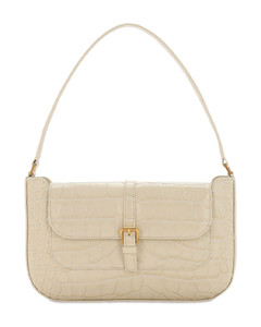 Miranda Croc Embossed Leather Bag