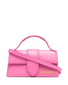 shoulder bag with criss cross chains